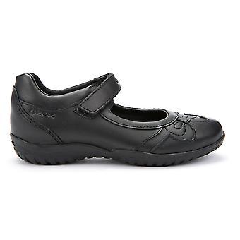 Ragazze di Geox ombra J54A6A scuola nero scarpe