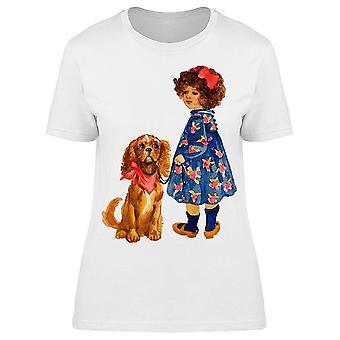 Curly Cute Friendship Tee Women-apos;s -Image par Shutterstock