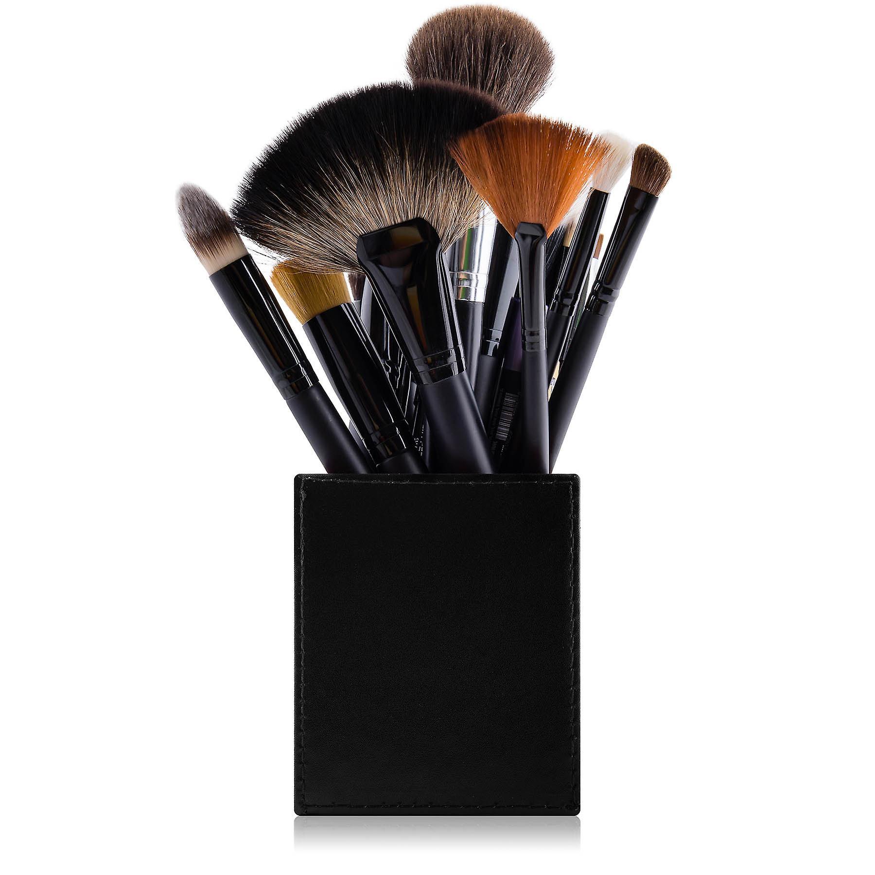 SHANY Cosmetics 2-en-1 Makeup Brush Holder with Removable Cosmetics Organizer Insert - Solution de rangement beauté professionnelle