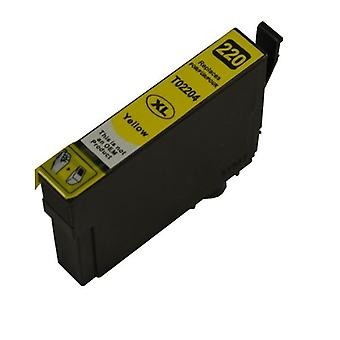 220YXL keltainen Premium-yhteensopiva muste suihku patruuna