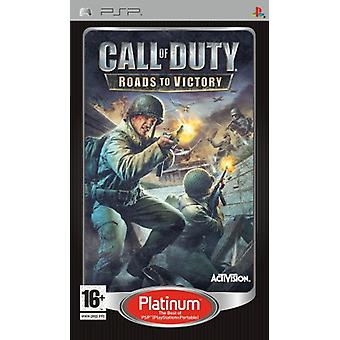 Call of Duty 3 Roads to Victory - Platinum Edition (PSP) - New