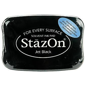 StazOn Solvent Ink Pad - Jet Black