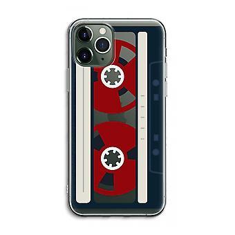 iPhone 11 Pro Max Funda transparente (Soft) - Aquí's su cinta