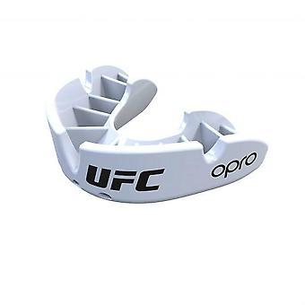 OPro UFC bronzen mond bewaker wit
