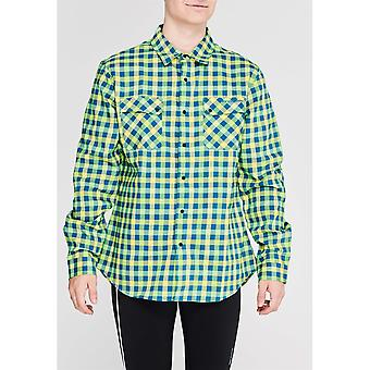 Sugoi Mens Gents Shop Long Sleeve Button Down Casual Shirt Top