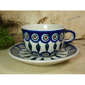 Cup and saucer for tea o. coffee, 200 ml volume, tradition 10 - BSN 21947