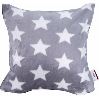 «Tom Tailor Cushion cover» SOFT STARS ««grey white 40 x 40 cm»
