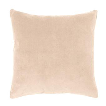 Bambury Velvet European Pillowcase Nude