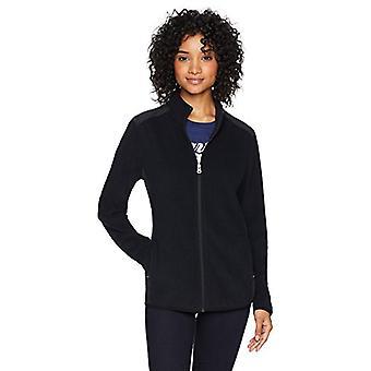 Starter Women's Polar Fleece Pullover with Pockets, Black, XX-Large