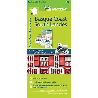 Basque Coast  South Landes Map 133