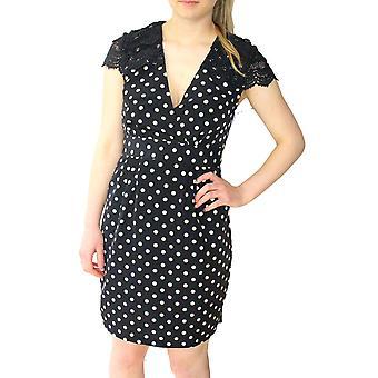Darling Women's Black White Anastas Pencil Dress
