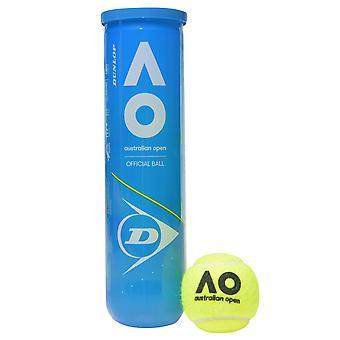 Dunlop Aus Open Tennis Balls Can Sport Extra Duty Yellow