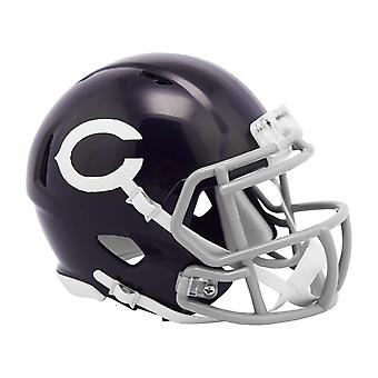 Riddell mini Football hjälm-NFL Chicago Bears Classic