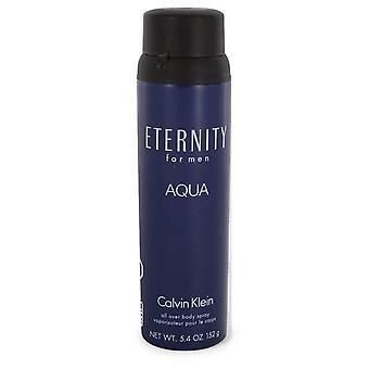 Eternity Aqua Body Spray By Calvin Klein   548279 160 ml