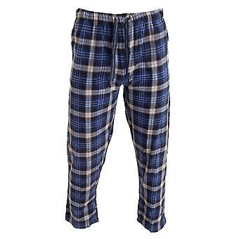 Cargo Bay Mens Tartan Lounge Pants