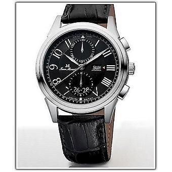 Jean Marcel hippy men's wrist watch automatic chronograph 160.266.32
