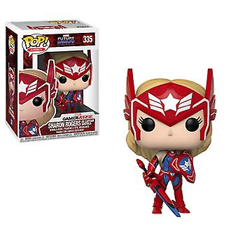 Funko POP Games - Marvel Future Fight - Sharon Rogers As Captain America Collectible Figure