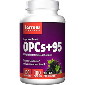 Jarrow Formulas OPCs + 95 Grape Seed Extract 100 mg 100 capsules