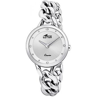 Lotus Watch L18721-1 - TRENDY Silver Steel Women's Matching Dial