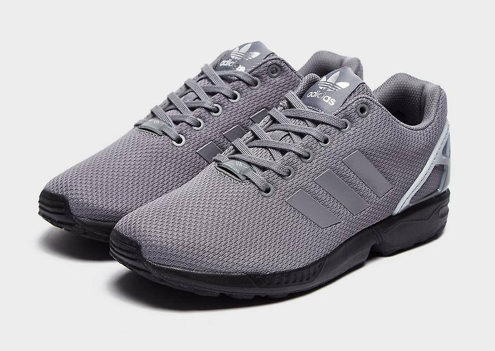 New adidas Originals Men's ZX Flux Trainers Grey