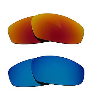 Polarized Replacement Lenses for Oakley Wind Jacket Sunglasses Anti-Scratch Anti-Glare UV400 by SeekOptics