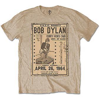 Bob Dylan gig Flyer 1964 rock officiell T-shirt