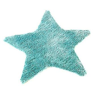 Catherine Lansfield Star Shape Childrens Rug Mint RRP £17