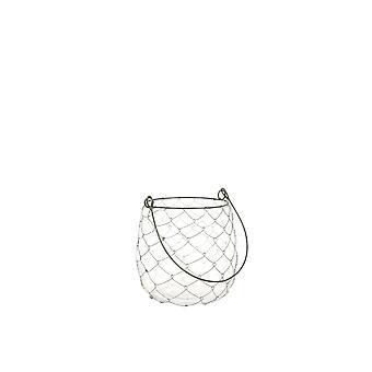 Light & Living Tealight 10x11cm - Jago Glass Rust