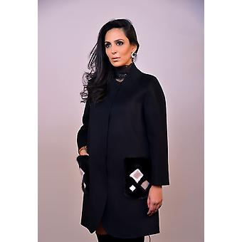Black Coat Sam-rone Woman EF1825