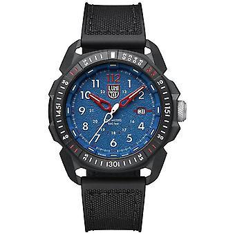 Luminox Limited Edition Ice-SAR Artic Black CARBONOX koperta czarna guma pasek męski zegarek XL. 1003 46mm