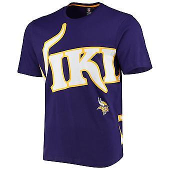 Minnesota Vikings BIG GRAPHIC NFL Shirt Purple