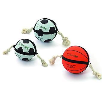 Karlie Flamingo Actie Bal - Basketbal Diameter 24 cm Oranje