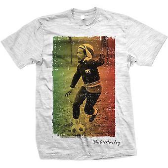 Bob Marley Rasta Fotball Offisielle Tee T-skjorte Menns Unisex
