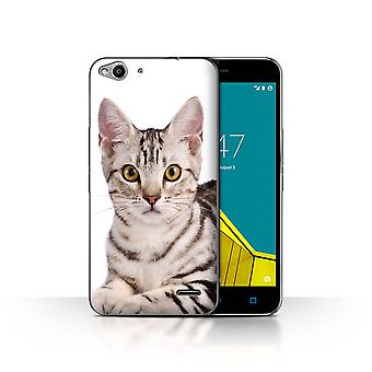 STUFF4 Case/Cover for Vodafone Smart Ultra 6/American Shorthair/Cat Breeds