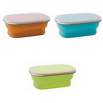 Brunner silicona plegable Snack Box (600ml)