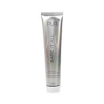 PUR (PurMinerals) Bare It All 12 Hour 4 in 1 Skin Perfecting Foundation - # Porcelain 45ml/1.5oz