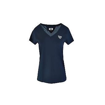 トミーヒルフィガーDW0DW08059C87ユニバーサルオールイヤーレディースTシャツ