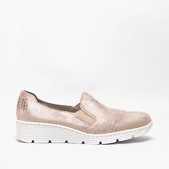 ريكر 587b0-62 السيدات تنزلق على الأحذية الزنجبيل