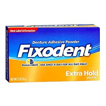Fixodent extra hold denture adhesive powder, 2.7 oz