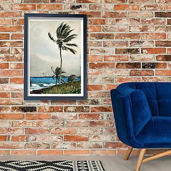 Winslow Homer - Palm Tree Nassau Poster Print Giclee
