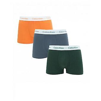 Calvin Klein U/wear 3 Pack Low Rise Trunks