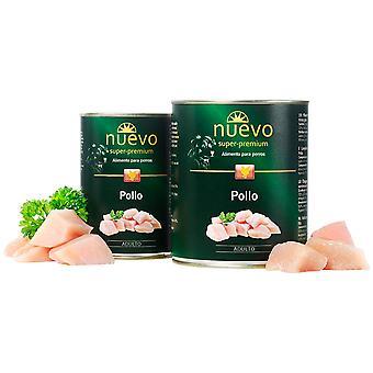 Nuevo Lata Adult Pollo (Dogs , Dog Food , Wet Food)