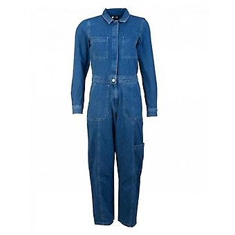 Tommy Jeans Regular Denim Jumpsuit