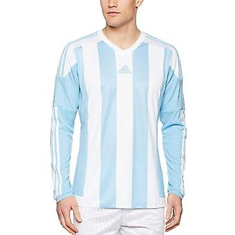 Adidas Junior Striped Long Sleeve Jersey