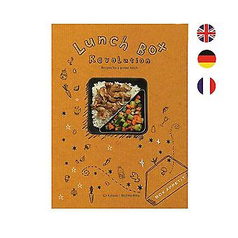 Saksan Lunchbox ruutuun Appetit Cook kirja musta & Blum