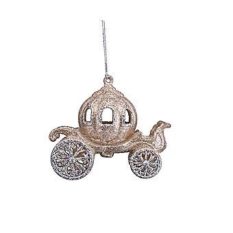 Fairytale Carriage Hanging Christmas Tree Decoration
