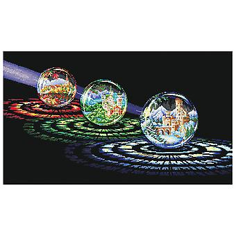 Andriana Cross Stitch Kit - Spheres of Desires