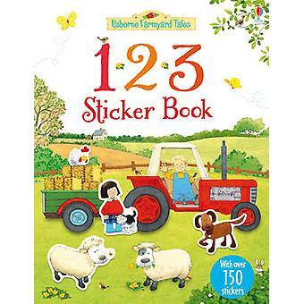 Farmyard Tales 123 Sticker Book by Rachel Wilkie - Stephen Cartwright