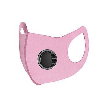 Anti-fog maska umývateľná ľadová hodvábna tvárová maska opakovane použiteľná ochranná maska s ventilom