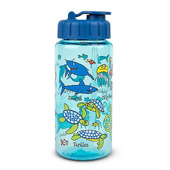 Tyrrell Katz Ocean Drinking Bottle With Straw